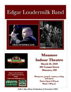 Bluegrass Music Show Flyer